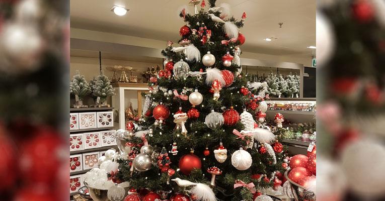 Weihnachtsdeko Globus.Der Weihnachtszauber Wird Eingeläutet