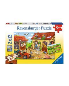 Ravensburger Puzzle Fleissig auf dem Bauernhof