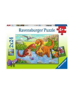 Ravensburger Puzzle Spielende Dinos