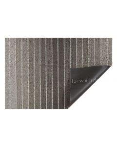 Chilewich Fussmatte Block Stripe Taupe 46 cm x 71 cm