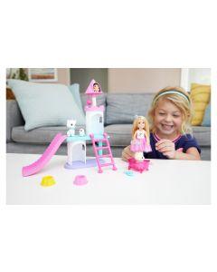Barbie Spielset Princess Adventure Chelsea Haustier-Schloss