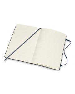 Moleskine Notizbuch Medium Liniert, Dunkelblau, 208 Seiten