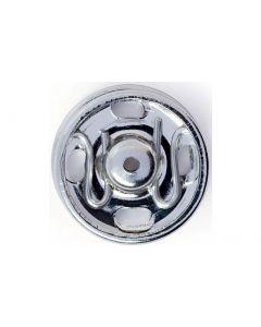 Prym Druckknöpfe Ø 9 mm, Silber, 12 Stück