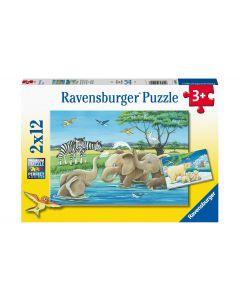 Ravensburger Puzzle Tierkinder aus aller Welt