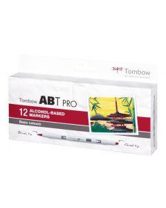 Tombow Stifte Basic Colors, Box,12er-Set