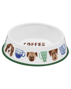 Tarhong Kunststoffnapf Coffee & Dogs Ø 19 cm
