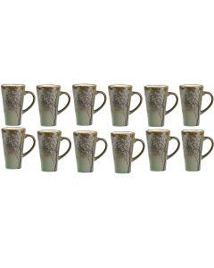Villa Collection Kaffeebecher 0.5 l, 12 Stück, Grün
