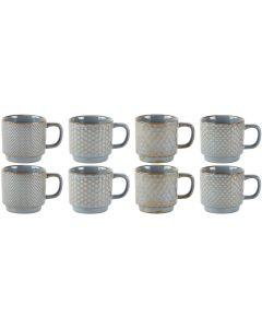 Villa Collection Kaffeetasse 0.35 l, 8 Stück, Grün