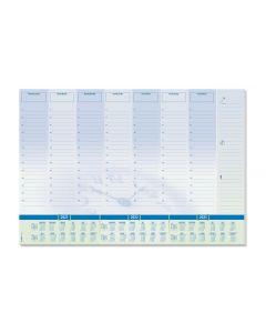 Sigel Schreibunterlage Time, 410 x 595 mm mit Kalender & Planer
