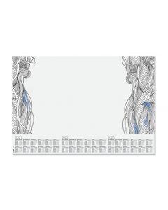 Sigel Schreibunterlage Relax, 410 x 595 mm mit Kalender