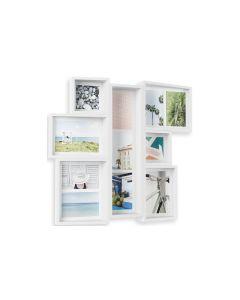 Umbra Bilderrahmen Edge 11 Bilder Weiss, 13 x 18 cm