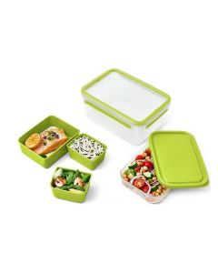 Emsa Lunchbox Clip & Go XL 2.2 l, Grün