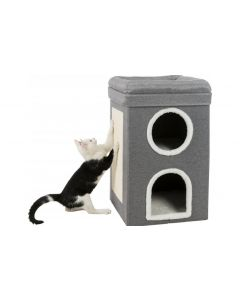 Trixie Kratzbaum Cat Tower Saul, Grau