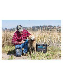 RINSEKIT Mobile Hunde-Dusche 7.4 Liter, Schwarz