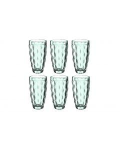Leonardo Longdrinkglas Brindisi 370 ml, 6 Stück, Grün