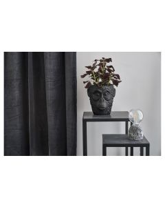 Villa Collection Blumentopf Gorilla, 22 cm, Schwarz