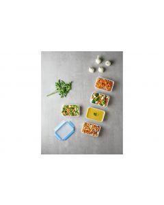 Emsa Vorratsbehälter Clip & Close 5-teilig, 4 l, Transparent
