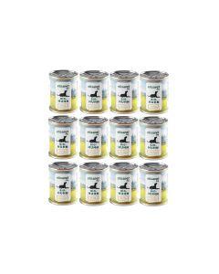elisapet Nassfutter Bio-Huhn 12 x 400 g