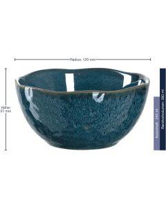 Leonardo Schale Matera 6 Stück, Blau
