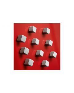 Sigel Magnetplättchen Strong Ø 10 x 10 x 10 mm, 10 Stück