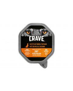 Crave Nassfutter Pastet Huhn & Truthahn, 14 x 150 g
