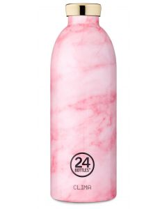 24 Bottles Thermosflasche Clima 0.85 l Pink Marble