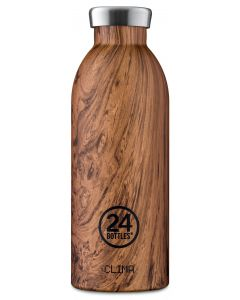 24 Bottles Thermosflasche Clima 0.5 l Sequoia Wood