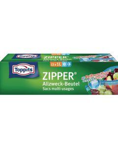 Toppits Frischhaltebeutel Zipper 12 Stück