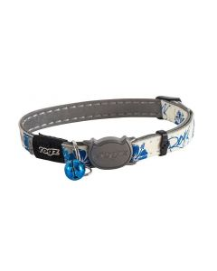 Rogz Katzenhalsband Glowcat blue Floral