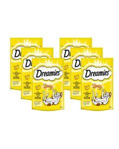 Dreamies Katzen-Snack mit Käse, 6 x 60g