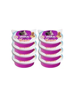 Whiskas Katzen-Snack Anti Hairball Multipack: 8 x 60g