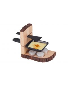 Nouvel Teelicht-Raclette Nouvel Raclette Single Wood