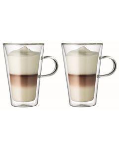Bodum Kaffeetasse Canteen 4 dl, 2 Stück