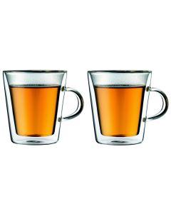 Bodum Kaffeetasse Canteen 2 dl, 2 Stück