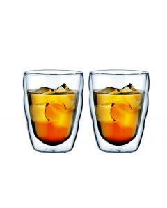 Bodum Kaffeeglas Pilatus 2.5 dl, 2 Stück, Transparent
