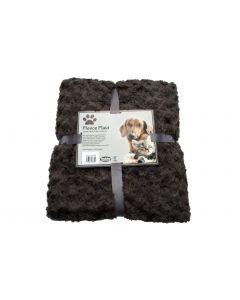 Nobby Hunde-Fleecedecke SuperSoft braun, 100x150cm