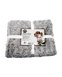 Nobby Hunde-Fleecedecke SuperSoft hellgrau, 150x200cm