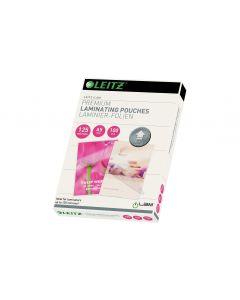 Leitz Laminierfolie Premium A5, 125 µm, 100 Stück, Glänzend