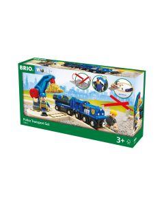 BRIO Eisenbahn Polizei Goldtransport-Set