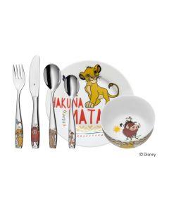 WMF Kinderbesteckset Lion King 6-teilig