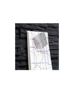 Sigel Magnethaftendes Glassboard artverum 46 cm x 91 cm, Anthrazit