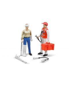 Bruder Spielwaren Figur Figurenset Rettungsdienst