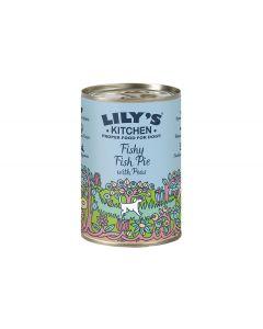 Lily's Kitchen Nassfutter Fischpastete, 6x400g