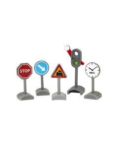 BRIO Verkehrszeichen-Set