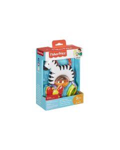 Fisher-Price Beschäftigungsspielzeug Kleines Spiel-Zebra