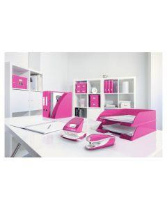 Leitz Heftgerät NeXXt Wow Mini 10 Seiten, Pink