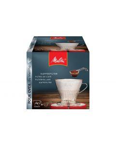 Melitta Kaffeefilter Halter Kunststoff, Transparent 1x4 1 Stück