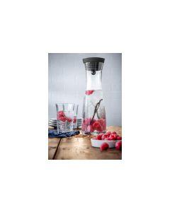 WMF Wasserkaraffen-Set 1 l 2 Gläser, Transparent
