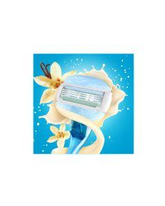 Gillette Venus Rasierklingen Comfortglide Vanille 4 4 Stück