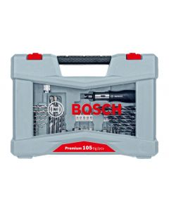 Bosch Bohr- und Bitset Premium X-Line 105-teilig